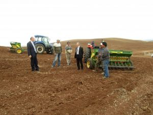 Mera Islah Projesi'nde tohum ekimi gerçekleştirildi