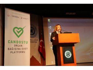 Can Dostu - Organ Bağışına Evet Platformu İAÜ'de