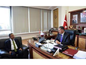 Serbest Mali Müşavir Ve Muhasebeciler Odası'ndan, Çakır'a Ziyaret