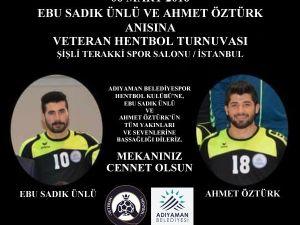 Merhum Hentbolcular Anısına İstanbul'da Turnuva Düzenlenecek