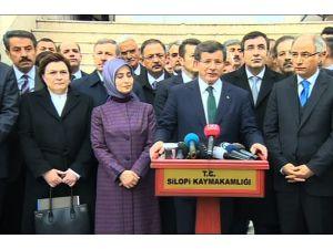 Davutoğlu: Terörle mücadelede zarar gören vatandaşlara destek vereceğiz