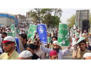Pakistan'da valiyi öldüren Kadri'nin idamı protesto edilmeye devam ediyor
