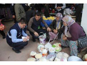 Balya'da Başkan Kılıç Pazarcıları Ziyaret Etti