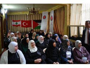 TİKA'dan, Lübnan'daki Filistinli Yaşlılar Merkezine Destek