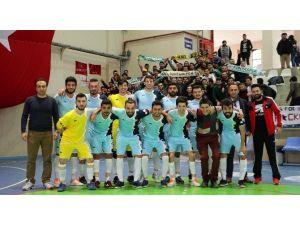 KBÜ Futsal Takımı İkide İki Yaptı