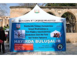Şanlıurfa'da Mazlumlar İçin Kampanya Başlatıldı