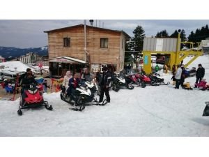 Uludağ'da Kar Yağışı Yeniden Başladı