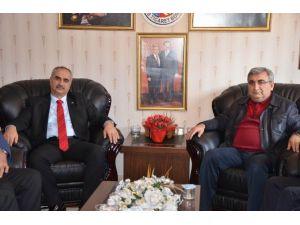 Başkan Aydın, Ticaret Borsası'nı Ziyaret Etti