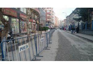 Siirt'te Güvenlik Üst Seviyeye Çıkartıldı