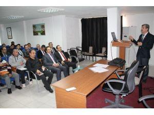 Bilecik'te Biyogüvenlik Bilgilendirme Toplantısı
