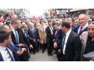 Meral Akşener Elazığ'a geldi