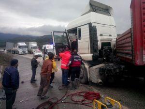 Osmaneli'de Trafik Kazası, 1 Yaralı