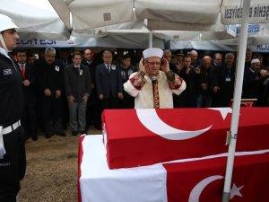 Şehit polis memuru Günay son yolculuğuna uğurlandı