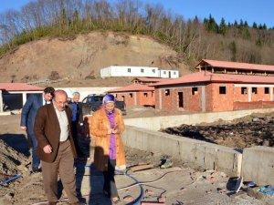 Türkiye'nin en büyük hayvan bakım merkezinin inşaatı sürüyor