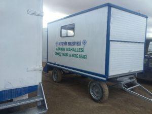 Beyşehir'deki Hizmet Araçlarına Revizyon