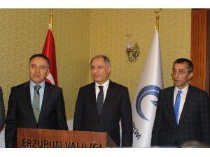 İçişleri Bakanı Efkan Ala Erzurum Valiliği'ni Ziyaret Etti
