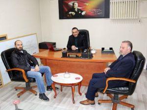 AK Partili Atmaca'dan Gazeteci Genç'e Ziyaret