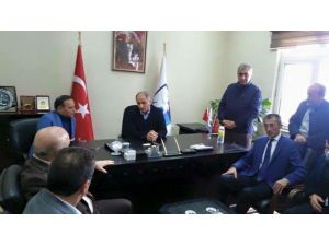 Bakan Ala'dan Bb Erzurumspor'a Ziyaret