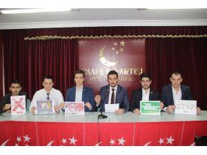 Saadet Partili Gençler, Yeşilay Haftası Nedeniyle Bildiri Yayınladı