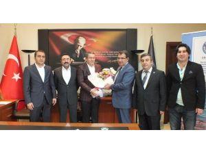 Başkan Şahin'den Van TSO'ya Ziyaret
