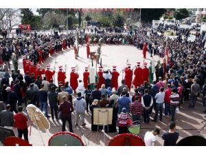 TSK Mehteran Takımı'ndan, Atatürk'ün Antalya'ya Gelişinin 86. Yılı Konseri