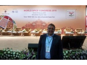 Ege Ürünleri Dünya Baharat Kongresi'nde Tanıtıldı