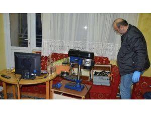 Bursa'da Silah Atölyesi Bulundu