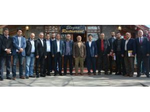 Başkan Toltar, Dernekler Federasyonu'nu Ağırladı