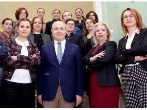 """Başkan Akgün: """"Kadın Çağdaş Toplumun Temel Taşıdır"""""""