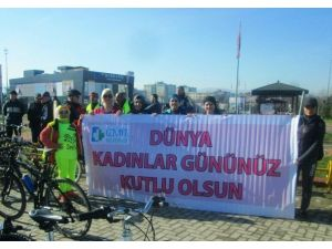 Pedallar, Kadınlar Ve Yeşilay Haftası İçin Çevrildi