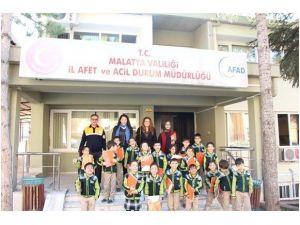Özel Çamlıca Okulları'ndan, AFAD Ziyareti