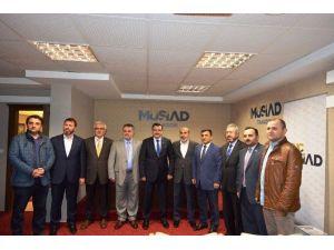 Ortahisar Belediye Başkanı Genç'ten MÜSİAD'a Ziyaret