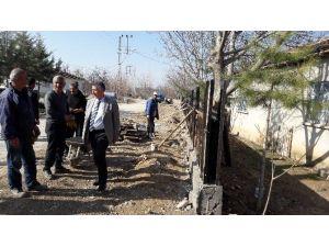 Yazıhan Belediye Başkanı Nevzat Öztürk, Çalışmaları İnceledi