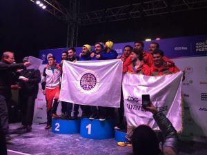 Atatürk Üniversitesi Erkek Takımı, Kayak Alp Disiplini Snowboard Türkiye Şampiyonu Oldu