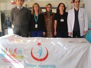Elazığ'da Pulmoner Rehabilitasyon Haftasında Stand Açıldı