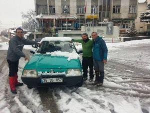 Bozdağ'da Mart Ayında Kar Keyfi