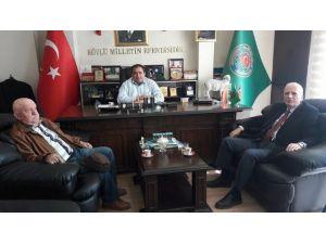 Cemiyet Başkanı Südemen'den Başkan Koçak'a Ziyaret