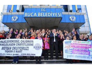 Buca'da Bu Hafta Yönetim Kadınlarda