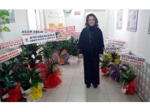 Ceyda Çetin Erenler'in Odası Çiçek Bahçesine Döndü