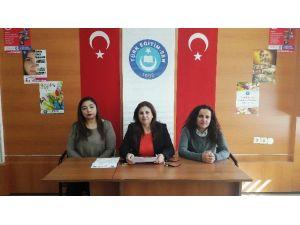 Gaziantep Türk Eğitim - Sen Kadın Komisyonu Başkanı Mircan Karakuş: