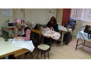 Yozgatlı Ev Kadınları Boş Zamanlarında Para Kazanıyor