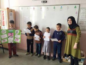Atatürk İlkokulu'nda Yeşilay Haftası Kutlandı