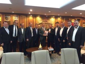Platform'dan Üsküdar Belediye Başkanına Ziyaret