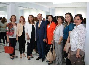 Başkan Gürkan, 8 Mart Dünya Kadınlar Günü'nü Kutladı