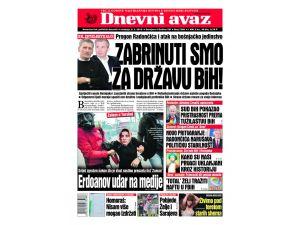 Bosna Hersek'in en büyük gazetesinden Zaman çalışanlarına destek