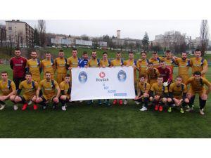 Bosna Hersek'teki futbol kulübünden Boydak Holding'e destek
