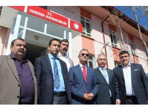 CHP Sivas Milletvekili Akyıldız Gemerek'te