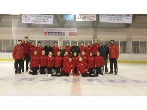 Senkronize Buz Pateni Genç Milli Takımı Hazırlık Kampını Tamamladı