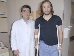 Kaleci Yavuz Dizinden Ameliyat Oldu