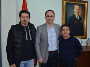 Olimpiyat Şampiyonu Mutlu Ve Sağır'dan Şahin'e Ziyaret